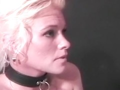 Domina has fun with her big boobed sluts