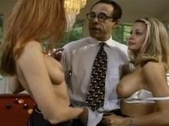 Kelly O'Rion & Natasha Blake - Pussymans Campus Sluts Busted
