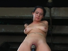 Amateur Casting Couch: Jessica is a true amateur tied for the first time