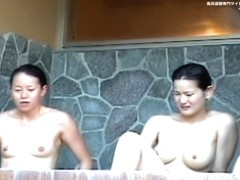 Japanese girls in Jacuzzi boast with horny nude boobs dvd 01107