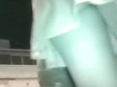 Hot teen chick public upskirt ass video