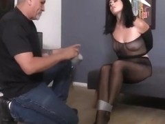 Call Girl Punished With Lotsa Pantyhose and Duct Tape