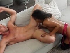 Demi Sutra Fucks her dad's employee