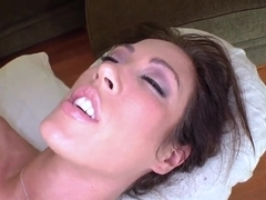 Dude fucks Capri Cavalli after sex massage