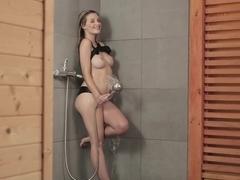 Best Pornstar Anna Tatu In Crazy Big Tits Showers Porn Scene