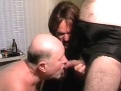 Best homemade shemale video with Threesome, Mature scenes