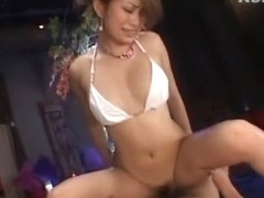 Incredible Japanese chick Nao Yoshizaki in Fabulous Cougar, POV JAV scene