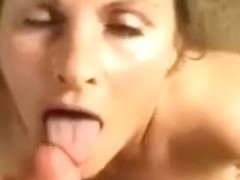 Luv to have cum shoot on my face and tits