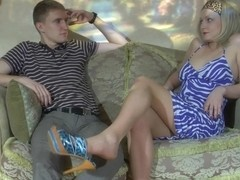 NylonFeetVideos Clip: Jaclyn A and Connor A