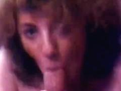 Vintage: Hawt Schoolgirl receives an A in Cocksucking
