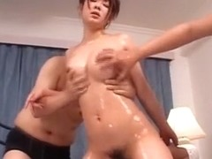 Crazy Japanese model Minori Hatsune in Hottest Doggy Style, Creampie JAV video