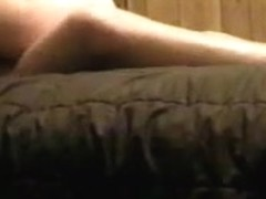 Fucking my girlfriend on the bed