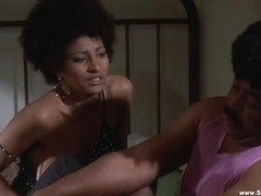 Pam Grier undressed compilation - HD