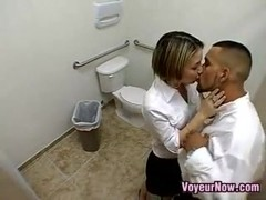 Slut Recorded Fucking In Public Toilet