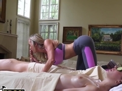 BANGBROS - Went In For A Couples Massage, Got My Dick Serviced By A Cougar: Brandi Love!