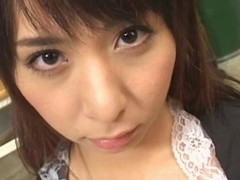 Yuka Osawa supplicates for cum in her face hole