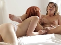 Nubile Films - Elle Alexandra grinds her bawdy cleft on her hotty