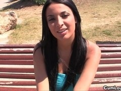 Anissa Kate shows off her excellent Milk Shakes and acquires screwed