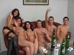 Russian Students Sex Party