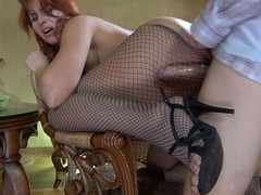 MaturesAndPantyhose Video: Marianne and Steve