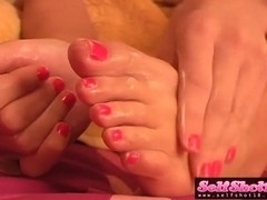 SelfShot18 Video: Addison Foot Tease