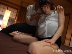 Mio Sakuragi hot Asian milf with huge hooters fucked hard