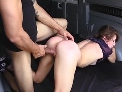 Rough sex in the Van