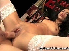 Veronica Rodriguez Hot In White Sex Show