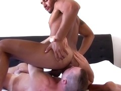 Young strongman who loves a big hard latin cock