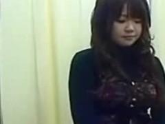 Cute japanese girl checkup
