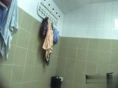 Hidden cameras in public pool showers 846