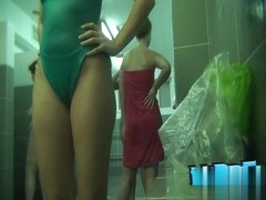 Hidden cameras in public pool showers 187