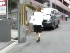 Unbelievable public sharking scene of some vivacious little vixen