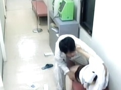 Japanese naughty nurse gets a hardcore surprise fuck