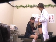 Spy cam video with asian slut fucked in the medical clinic