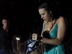 Nasty brunette Chanel Preston gets licked by Bill Bailey