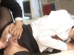 Horny pornstar Betty Sparks in crazy blowjob, brunette porn movie