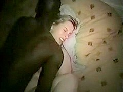 Wife Shared by Cuckold Hubby with 2 Dark Allies at Home