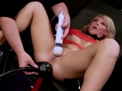 Hottest pornstar Casey Cumz in fabulous dildos/toys, blonde xxx movie