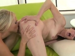 Barbie White and Judyt get wet and nasty