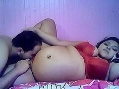 Preggo Wife Love Tunnel Licking Porn Movie Scene