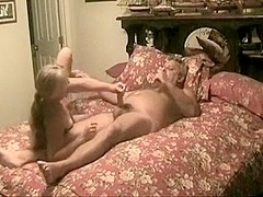 Hot 50 yr old wife with husband