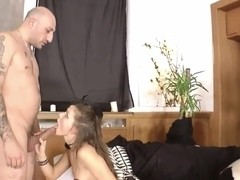 Michell dreams to be the most slutty and dirty slut and needs to stretch her ass