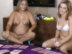 Strip Barracuda with Angel and Brianna