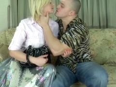PantyhoseJobs Clip: Rebecca I and Nicholas