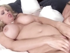 Julia Sins puts on a show with a young stud
