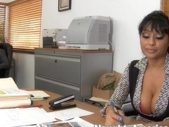 Priya Anjali Rai & James Deen in Naughty Office