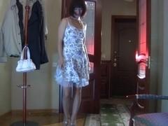 LacyNylons Scene: Mireille
