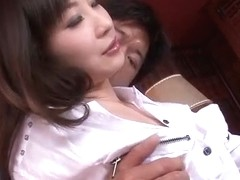 Asian Yuwa Tokona enjoys hunk to fuck her well