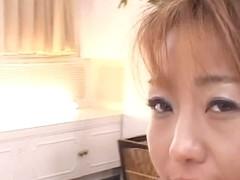 Mari Amemiya sucks black dick and double penetration